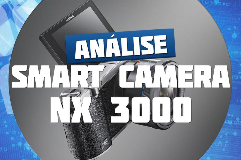 Imagem de Análise: Samsung Smart Camera NX 3000 no site TecMundo