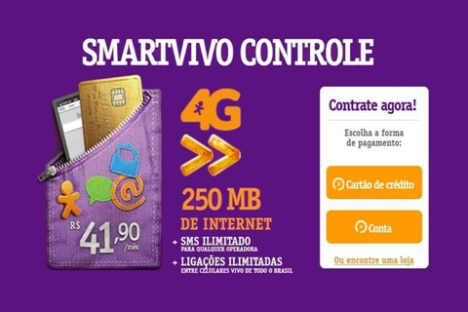 Imagem de Vivo adiciona internet 4G em novos planos Pré e Controle no site TecMundo