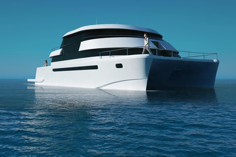 Imagem de Luxo nos mares com o incrível catamarã Flash Cat  no site TecMundo