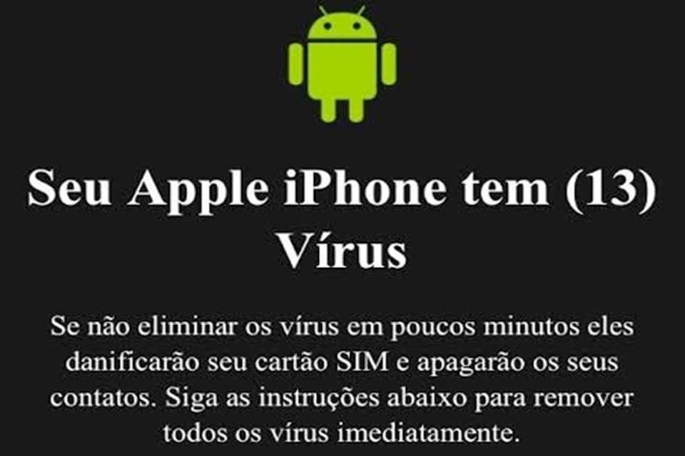 Imagem de Alerta falso de vírus durante navegação infesta aparelhos da Apple no site TecMundo