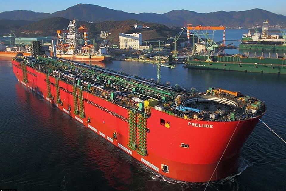 Imagem de Conheça Prelude, a maior embarcação do mundo no site TecMundo