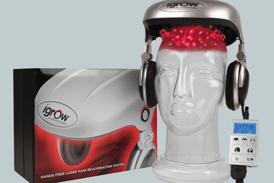 Imagem de Ficando calvo? Então conheça o iGrow, dispositivo que usa lasers na cabeça no site TecMundo