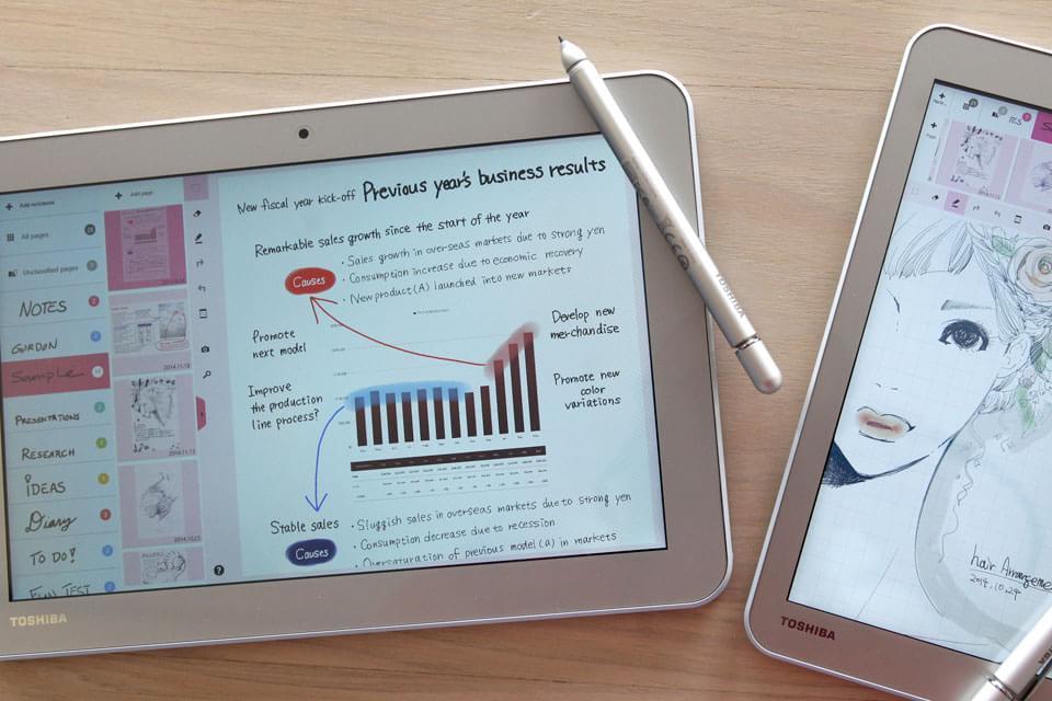 Imagem de Toshiba lança tablet com caneta a partir de US$ 350 [galeria] no site TecMundo