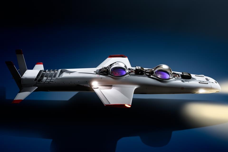 Imagem de Super Falcon Mark II: Submarino pessoal permite exploração debaixo d'água no site TecMundo