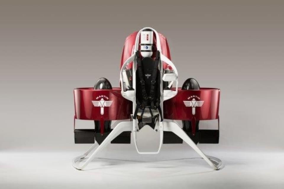 Imagem de Jetpack Martin P12 chegará ao mercado em 2016 no site TecMundo