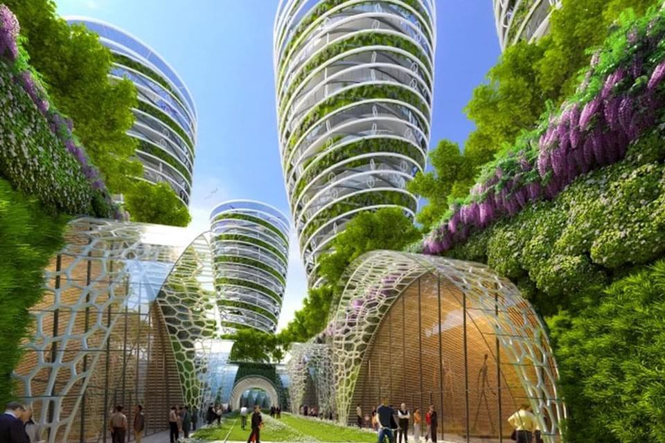Imagem de Paris 2050: confira uma projeção verde para a capital francesa no site TecMundo