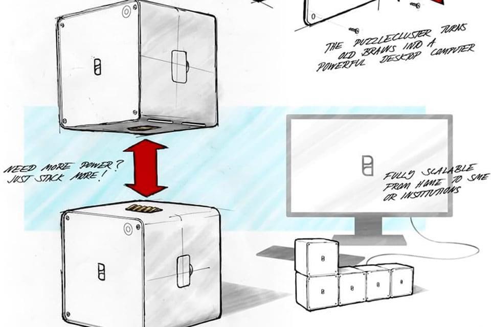 Imagem de Genial: conceito prevê a reutilização de partes modulares dos smartphones no site TecMundo
