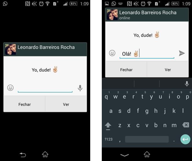 Well-known Android: como responder mensagens do WhatsApp direto na tela de  GF58