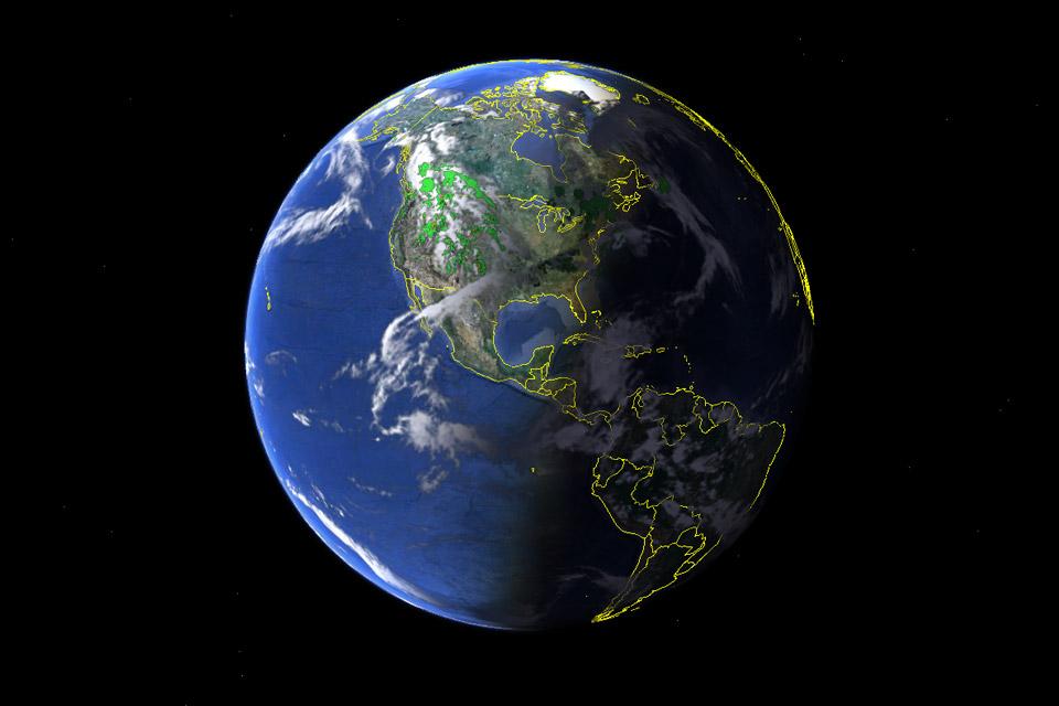 Imagem de Economize US$ 399: Google Earth Pro está gratuito para download no site TecMundo