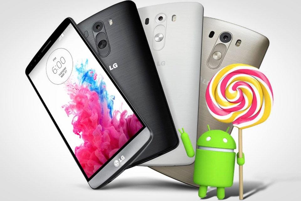 Imagem de LG G3 brasileiro começa a receber o Lollipop; veja como atualizar o seu no site TecMundo