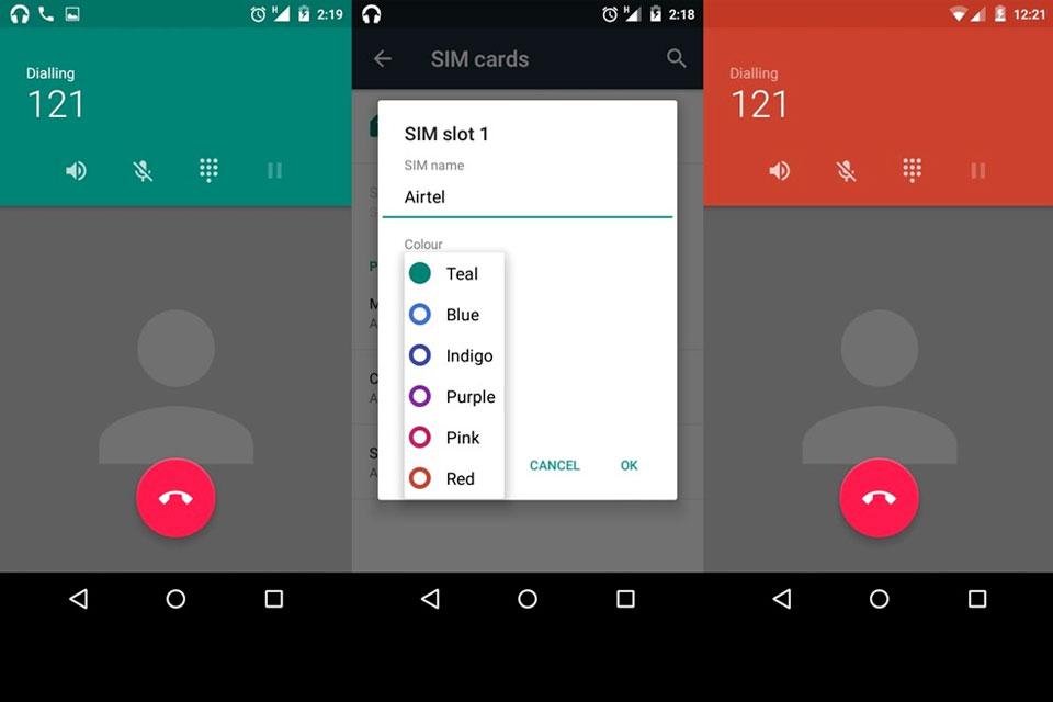 Imagem de Android 5.1 pode trazer personalização de cores ao discador de seu telefone no site TecMundo