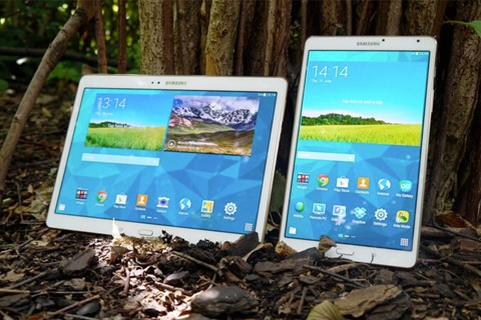 Imagem de Samsung Galaxy Tab S de 9,7 polegadas aparece em teste de benchmark no site TecMundo