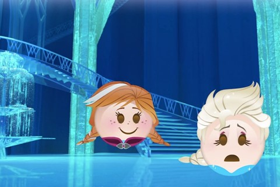 """Imagem de Vídeo recria a história de """"Frozen – Uma Aventura Congelante"""" com emojis no site TecMundo"""