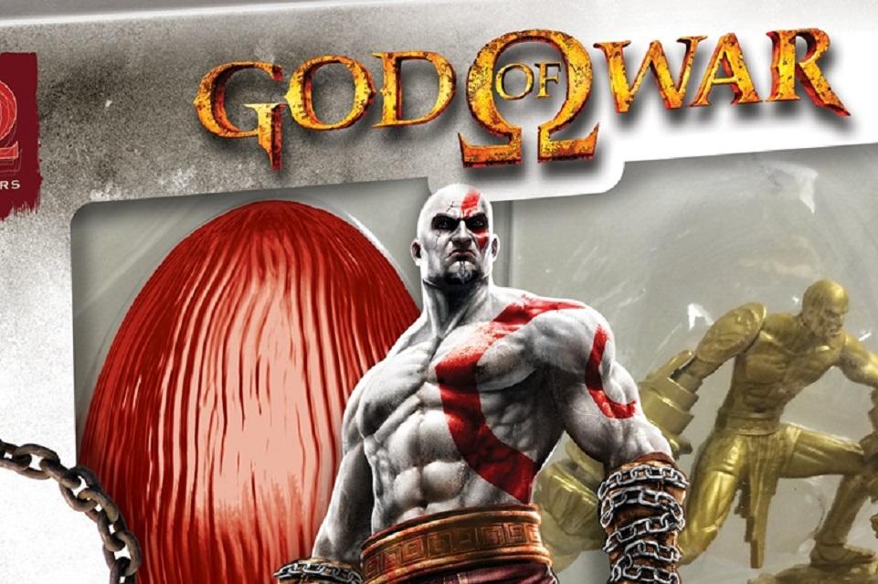 Imagem de Páscoa gamer: God of War é parte de aposta em ovos de chocolate temáticos no site TecMundo