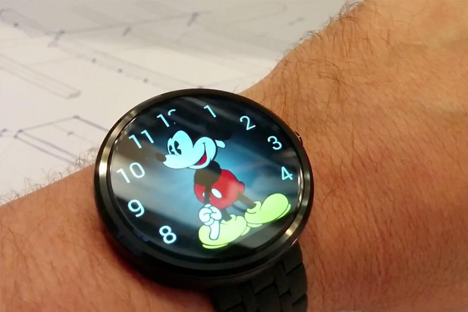 Imagem de 'Mickey do Apple Watch' já está disponível para Android Wear no site TecMundo