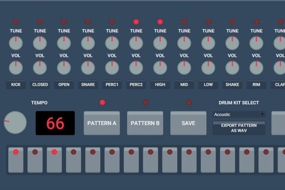 Imagem de Está na hora de bancar o DJ com uma Drum Machine totalmente online no site TecMundo