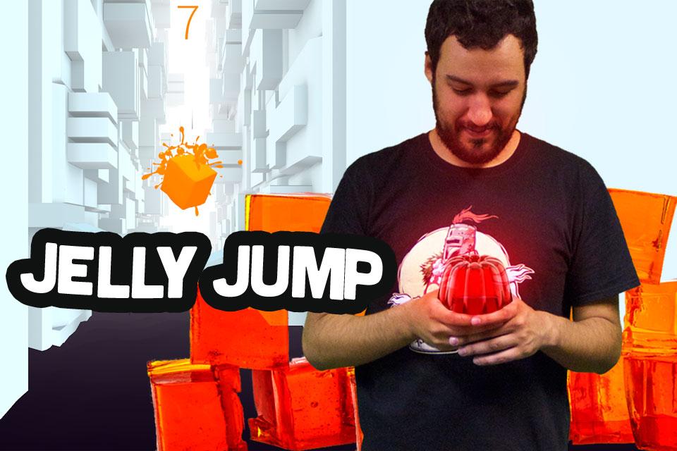 Imagem de Jogatina de Bolso: ajude um cubo gelatinoso a sobreviver em Jelly Jump no site TecMundo