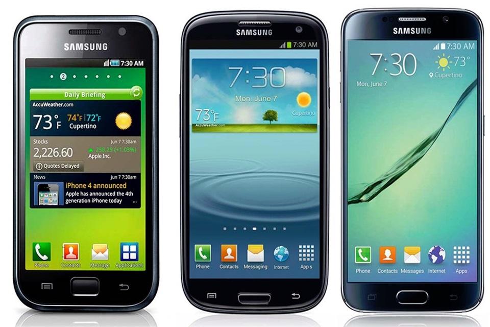 Imagem de Toda a evolução da linha Samsung Galaxy em um único GIF no site TecMundo