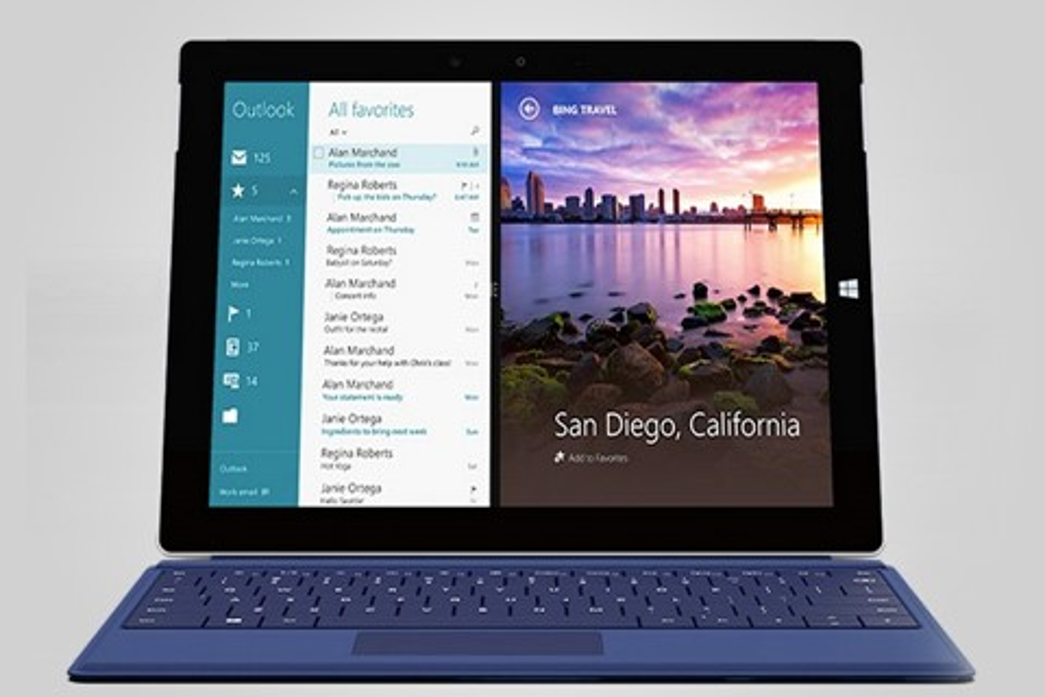 Imagem de Surface 3: Microsoft apresenta novo tablet com Windows 8.1 no site TecMundo