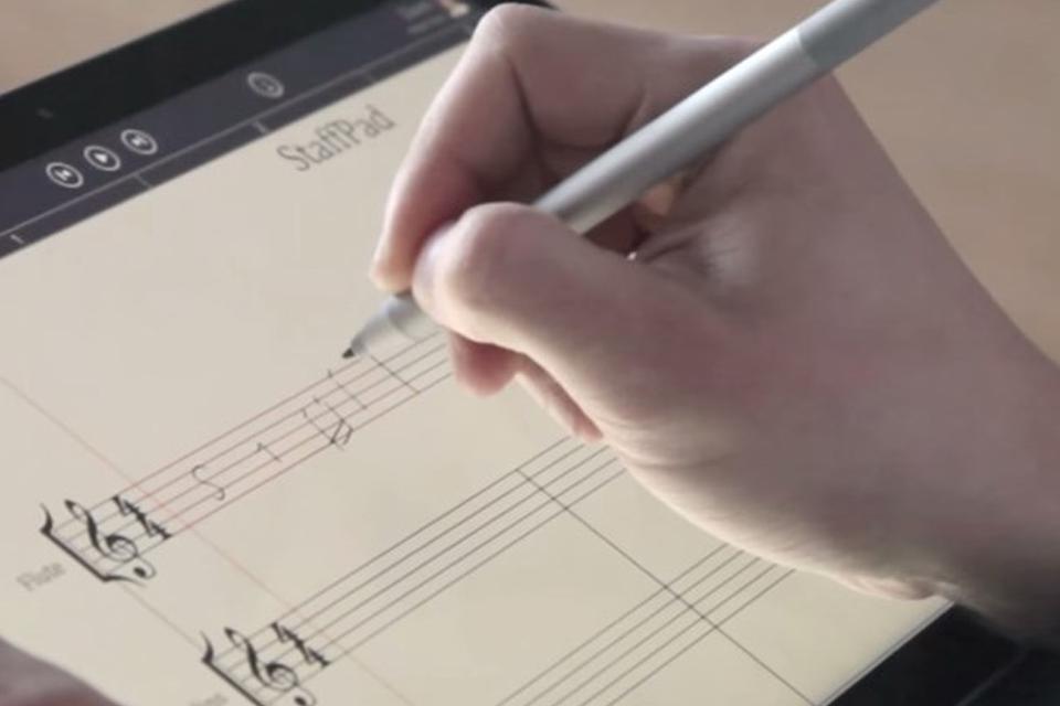 Imagem de Aplicativo permite escrever e reproduzir partituras no Surface Pro 3 no site TecMundo