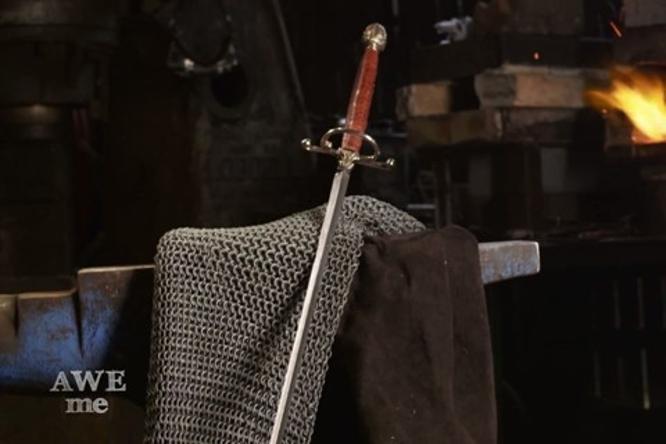"Imagem de ""Man At Arms"" recria espada de Arya Stark, de Game of Thrones [vídeo] no tecmundo"