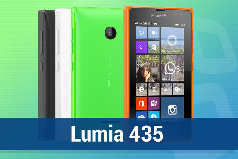 Imagem de Análise: smartphone Microsoft Lumia 435 Dual SIM [vídeo] no tecmundo