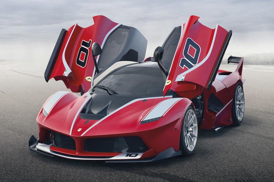 Imagem de Venha babar na Ferrari FXX K e no vídeo mostrando parte de sua construção no tecmundo
