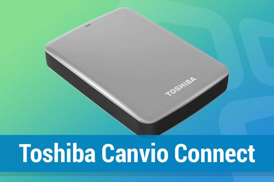 Imagem de Análise: disco rígido Toshiba Canvio Connect no tecmundo