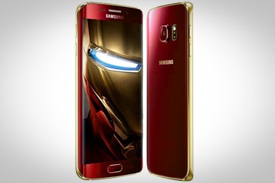 """Imagem de Galaxy S6 e S6 edge podem ganhar versão """"Homem de Ferro"""" até o final do mês no tecmundo"""