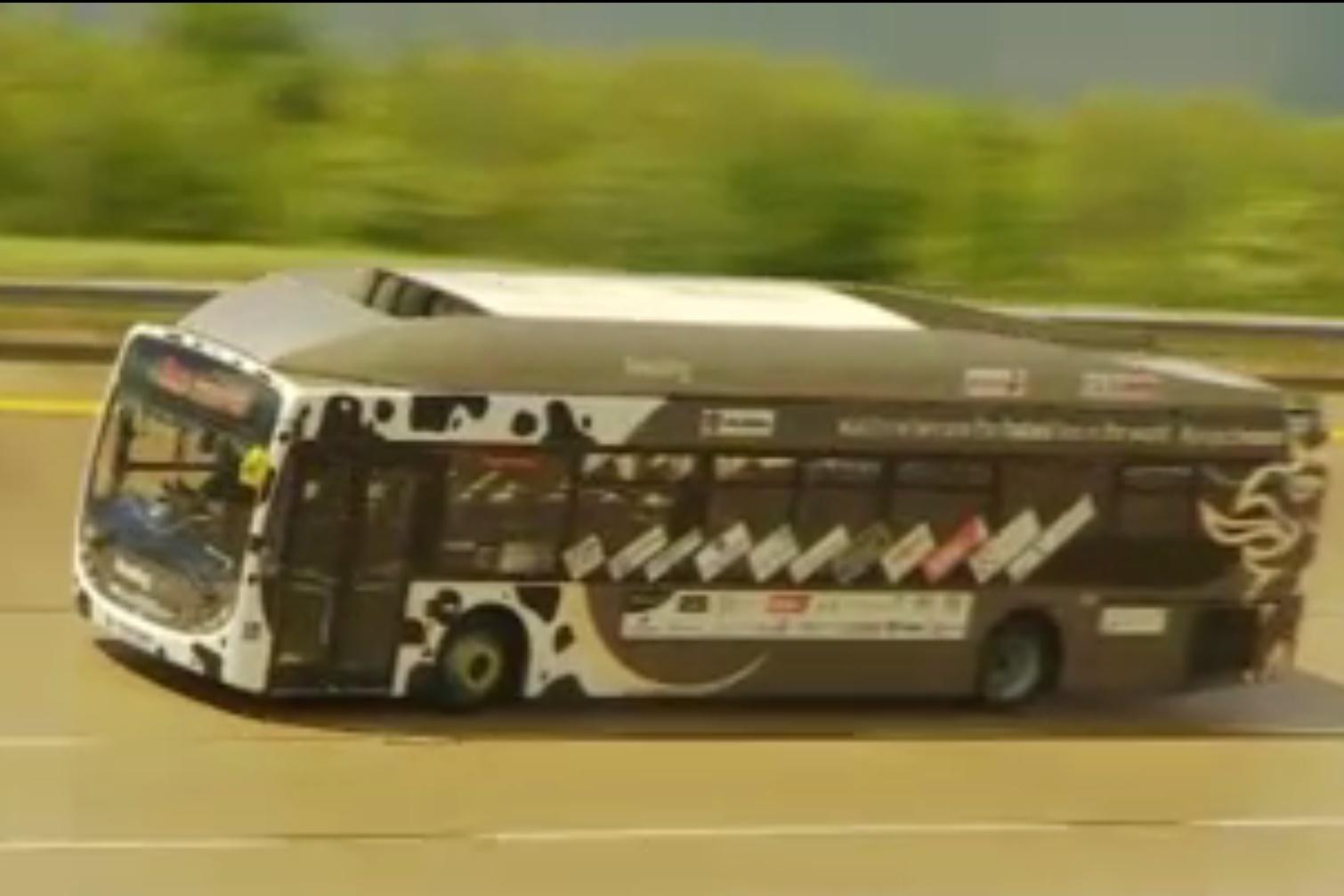Imagem de Ônibus movido a cocô de vaca consegue chegar a 123 km/h no tecmundo