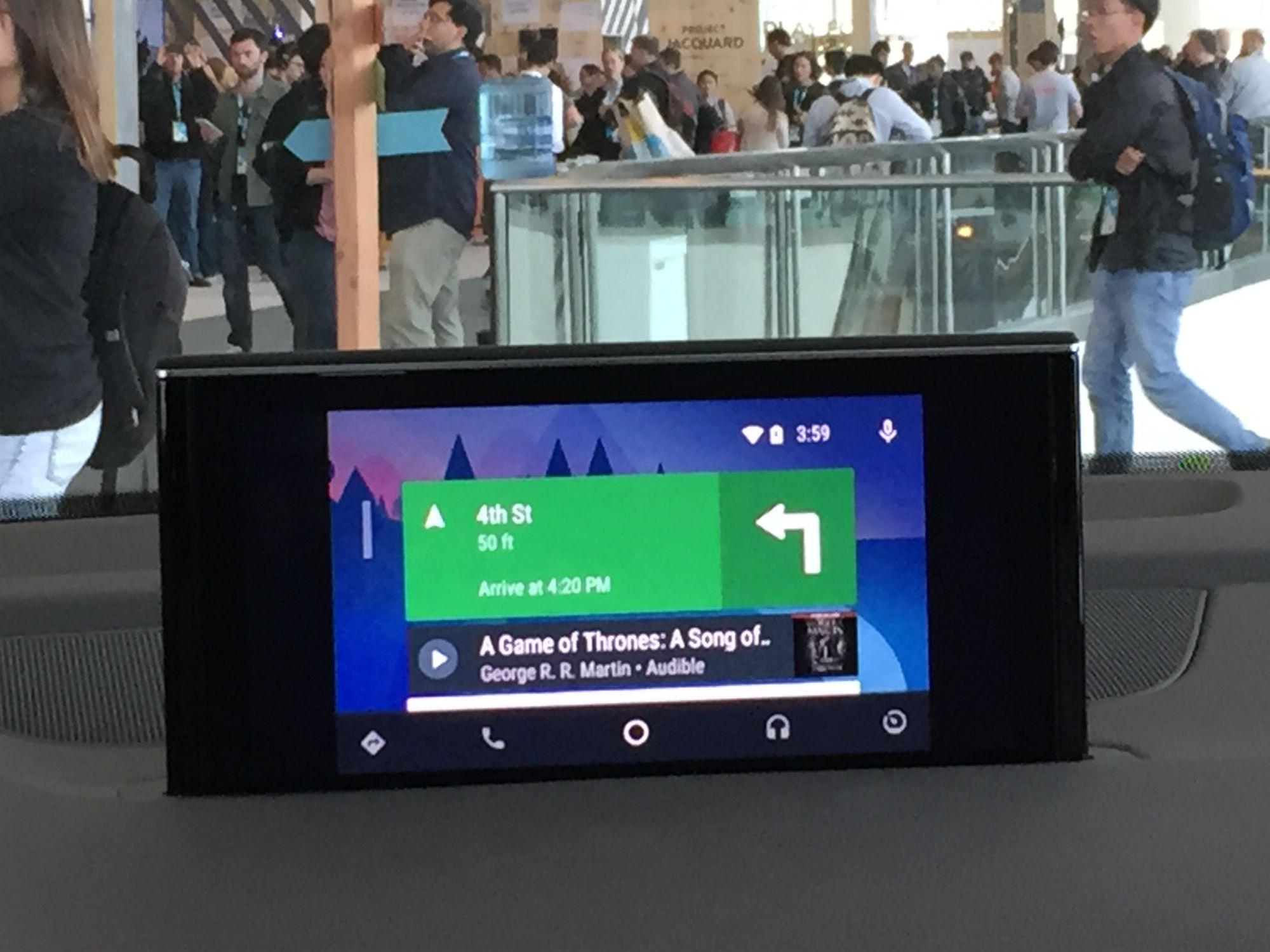 Imagem de Primeiras impressões: testamos o Android Auto no tecmundo