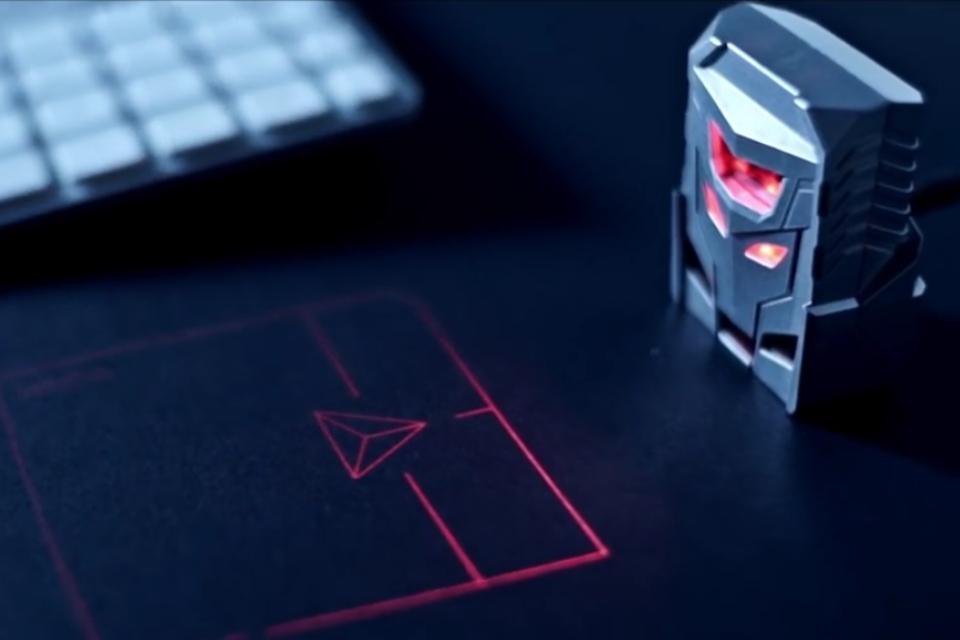Imagem de Trackpad projetado com laser promete respostas precisas e mobilidade no tecmundo