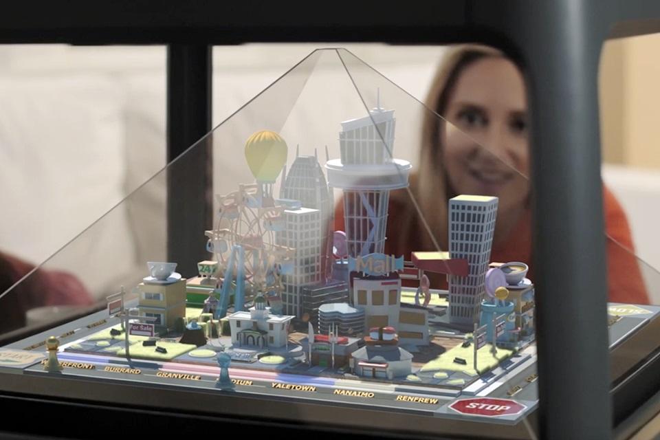 Imagem de Holus: aparelho quer trazer projeções holográficas para a sala da sua casa no tecmundo