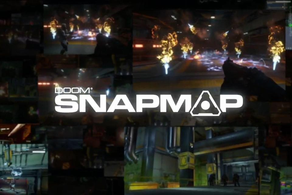 Imagem de Doom Snapmap é a ferramenta criativa para a construção de mods para o game no tecmundo