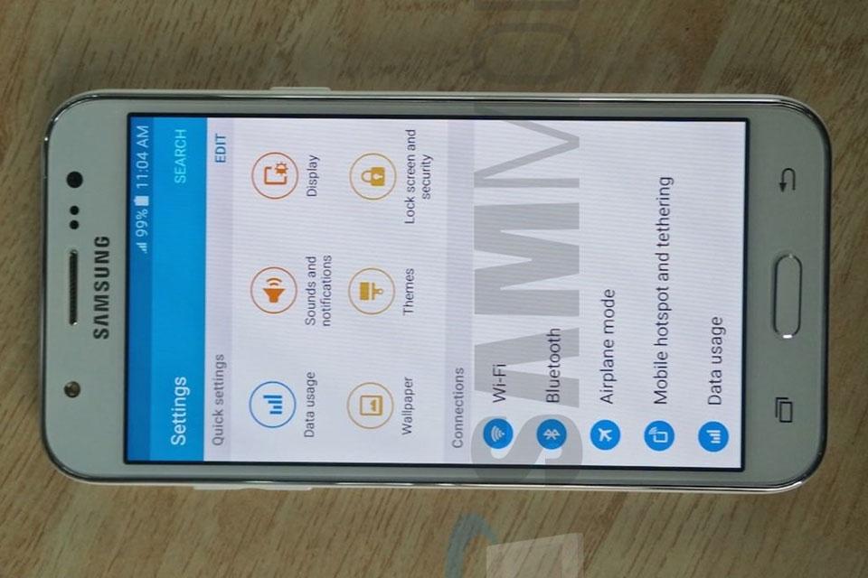 Imagem de Vazou: Samsung Galaxy J5 aparece em várias novas imagens no tecmundo