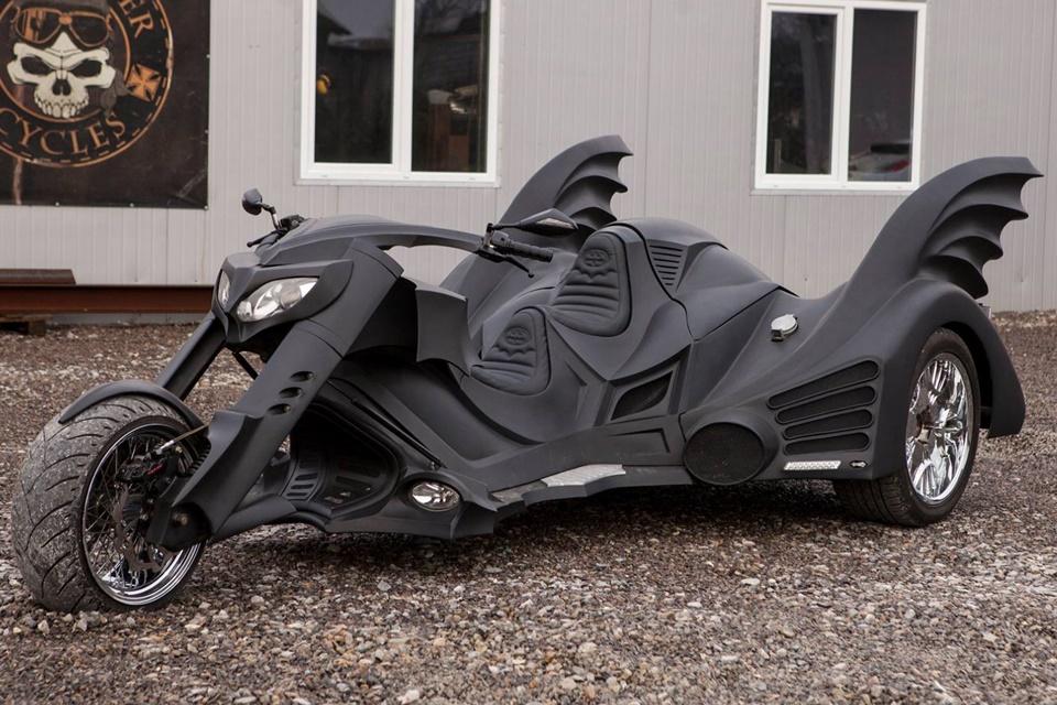 Imagem de Essa é a moto inspirada no Batman mais incrível que você vai ver na vida no tecmundo
