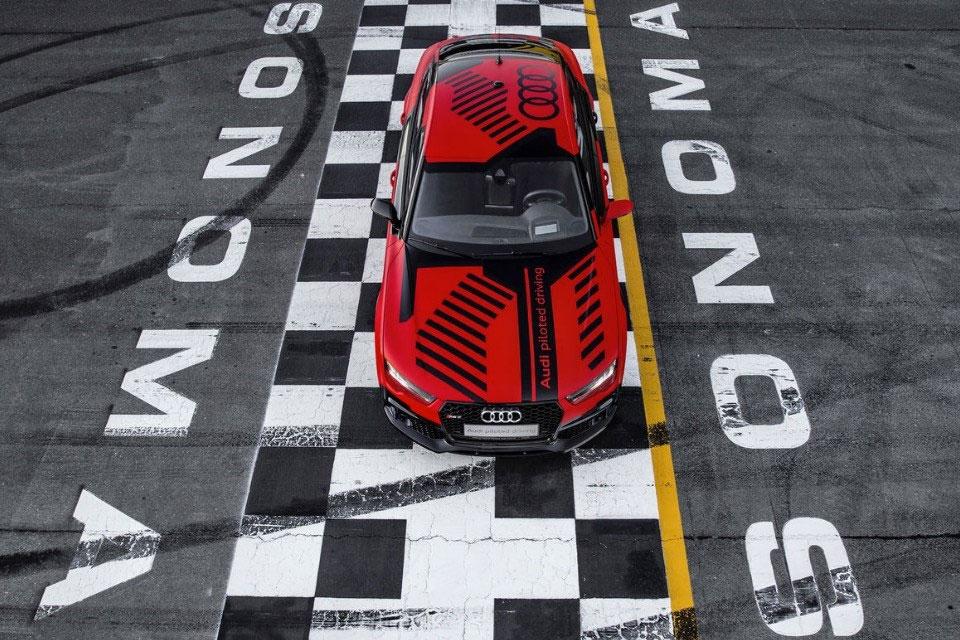 Imagem de Robby: Audi RS7 autômato é testado em circuito na Califórnia [galeria] no tecmundo