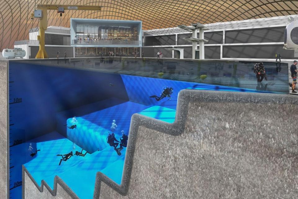 Imagem de Universidade de Essex tem projeto de piscina mais funda do mundo no tecmundo