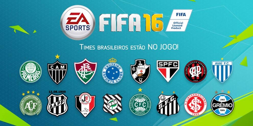 Imagem de EA Sports libera a lista de times brasileiros presentes em FIFA 16 no tecmundo