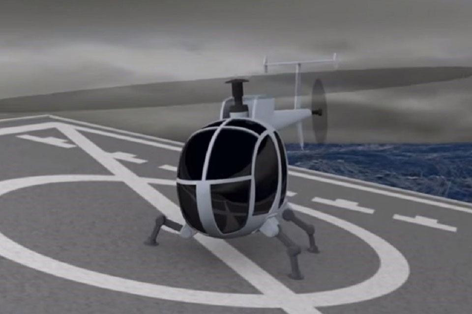 Imagem de DARPA pode mudar a forma em que pousamos helicópteros no tecmundo