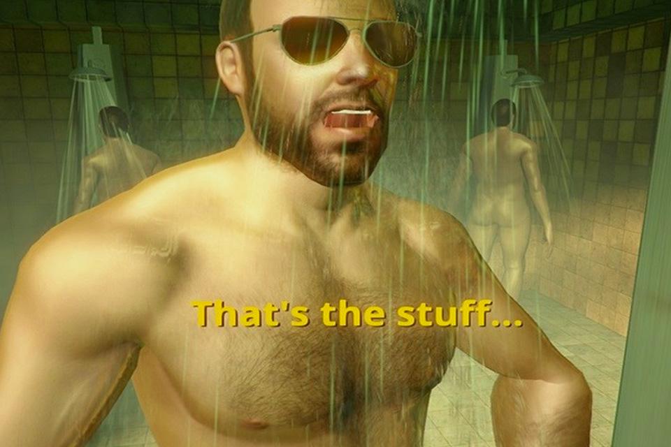 Imagem de Que tal esfregar homens durante o banho? Existe um game para isso [vídeo] no tecmundo