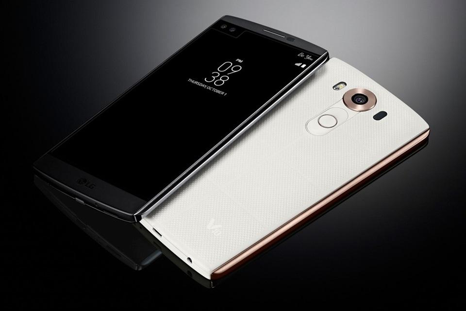 Imagem de Novo LG V10 tem segunda tela, duas câmeras frontais e muito mais no tecmundo