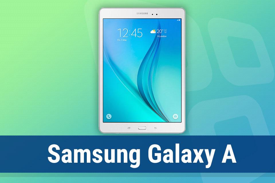 Imagem de Análise: tablet Samsung Galaxy Tab A [video] no tecmundo