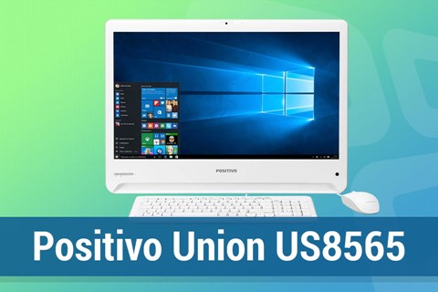Imagem de Análise: computador All-In-One Positivo Union US8565 no tecmundo