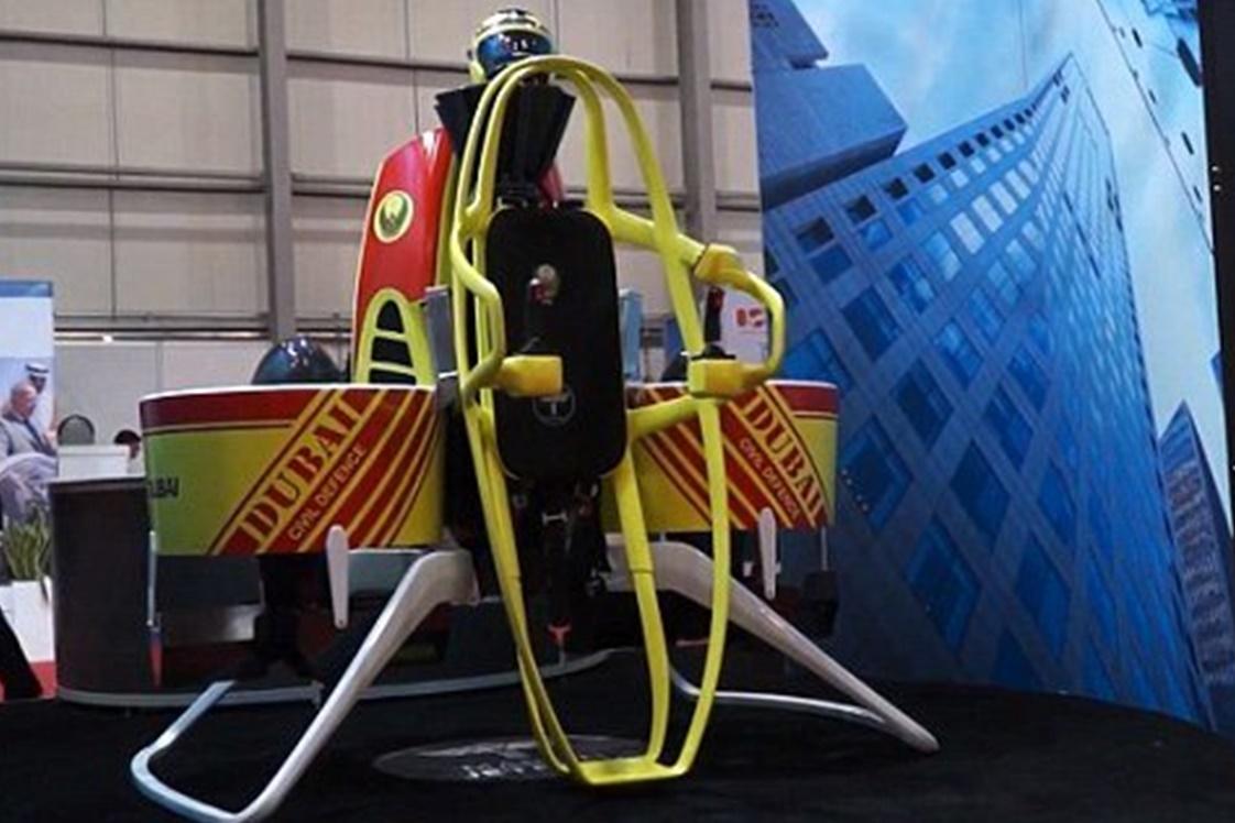 Imagem de Dubai vai comprar 20 jetpacks para bombeiros atenderem emergências no tecmundo