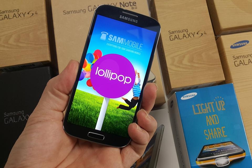 Imagem de Galaxy S4 (GT-19515L) começa a receber atualização para o Android Lollipop no tecmundo