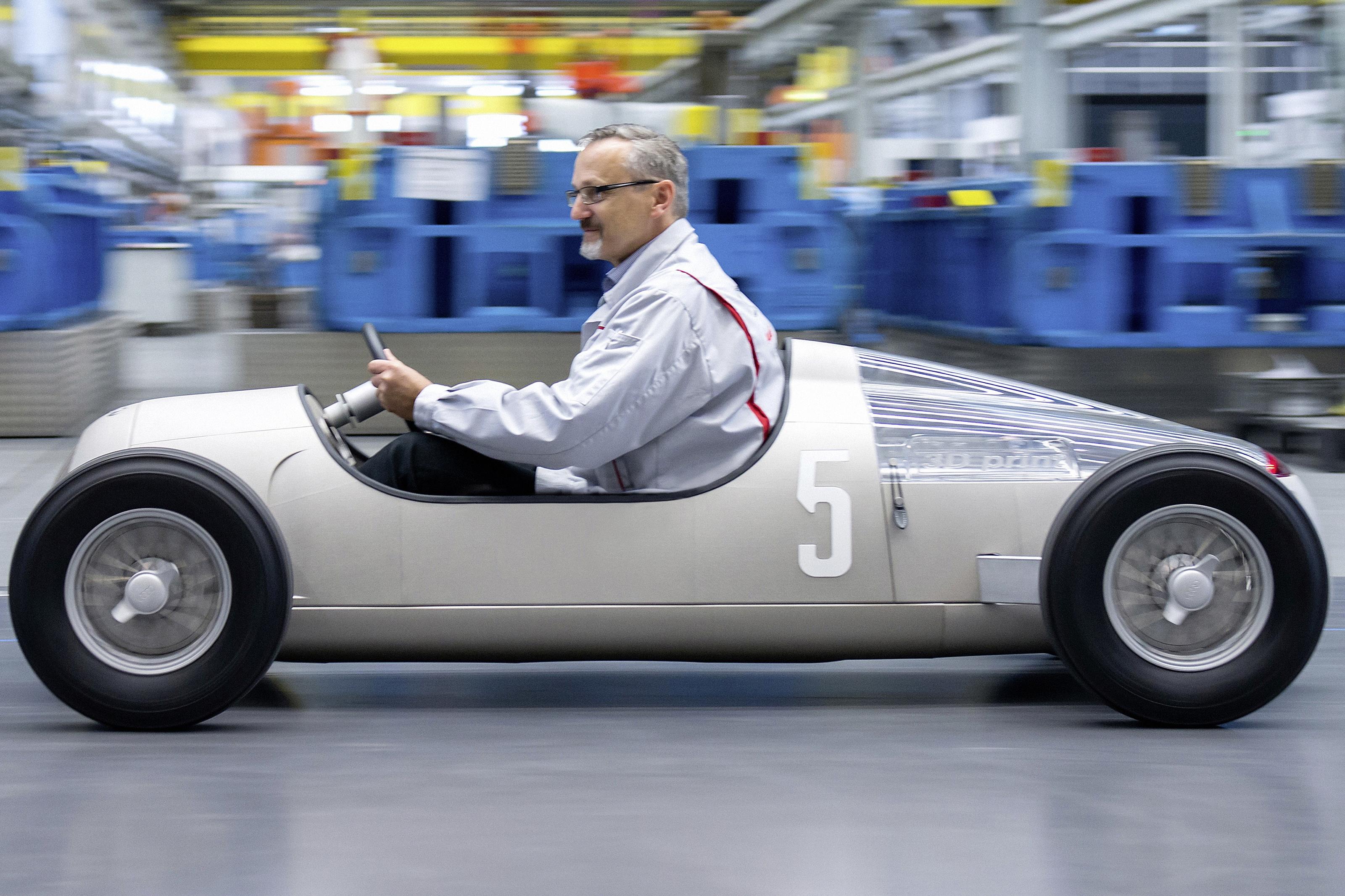 Imagem de Audi criou um carro de corrida em miniatura com impressão 3D no tecmundo