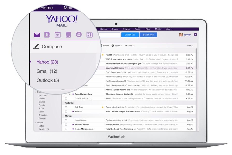 Imagem de Serviço de email do Yahoo agora pode gerenciar também o seu Gmail no tecmundo