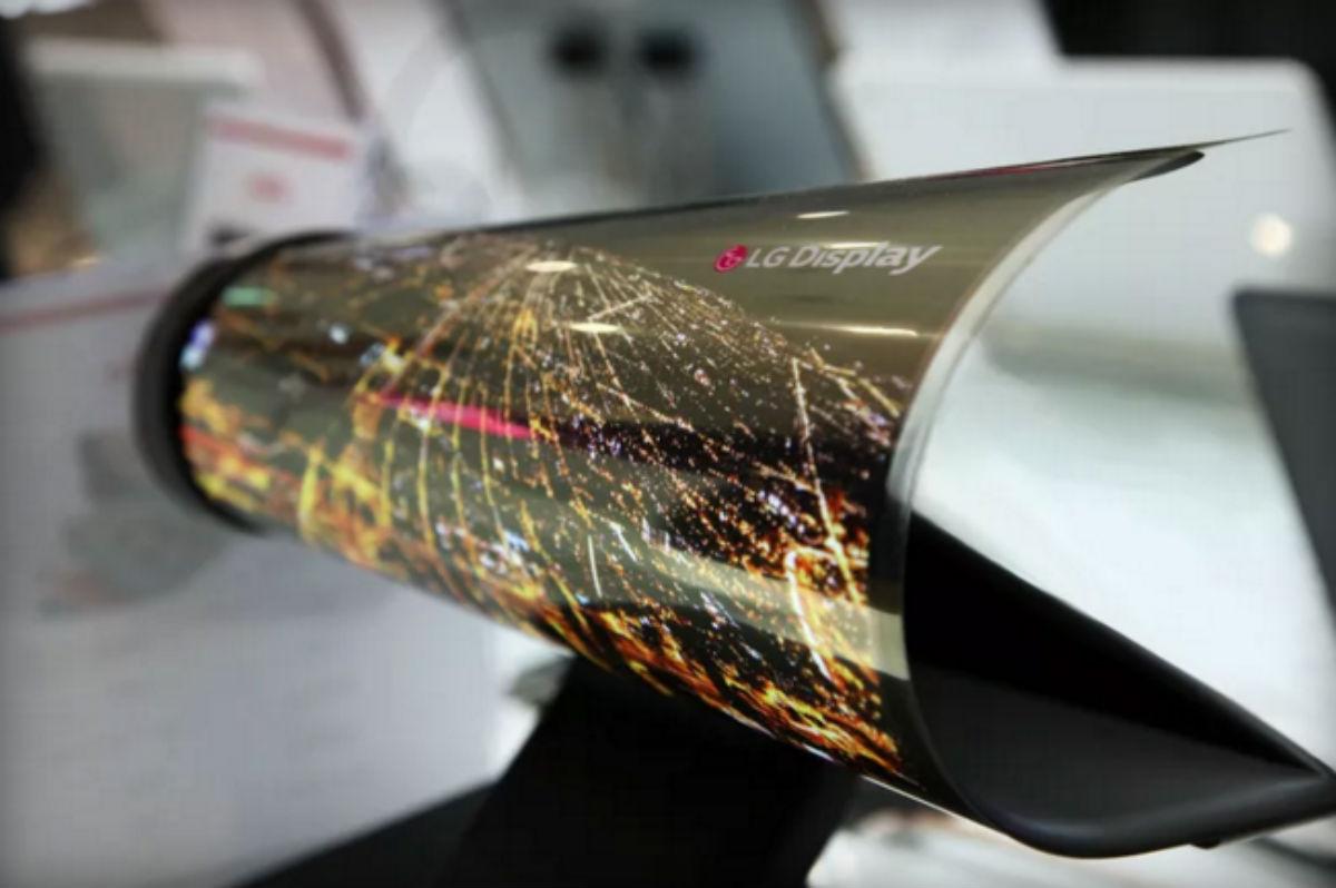 Imagem de LG apresenta display OLED que pode ser enrolado como um jornal no tecmundo