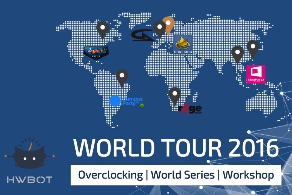 Imagem de Liga Mundial de Overclocking vai realizar competições na Campus Party 2016 no tecmundo